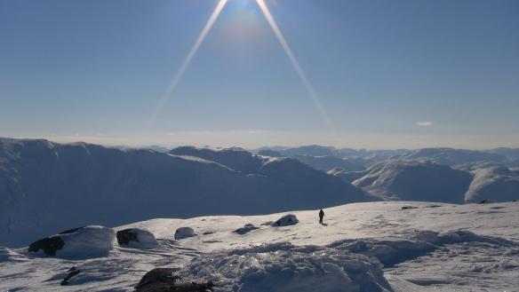 Utsikten ifrå Sanddals-fjellet