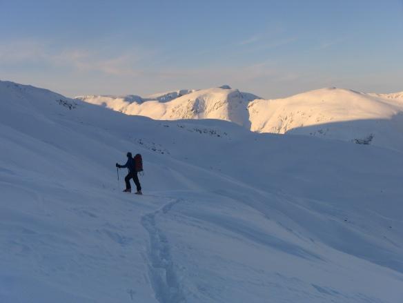 Topptur på Blåfjellet i Sogndalsdalen