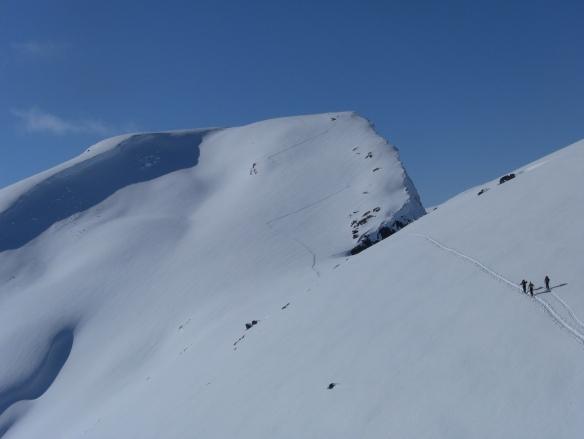 Bilde ifrå oppstigninga til Syskarnipa