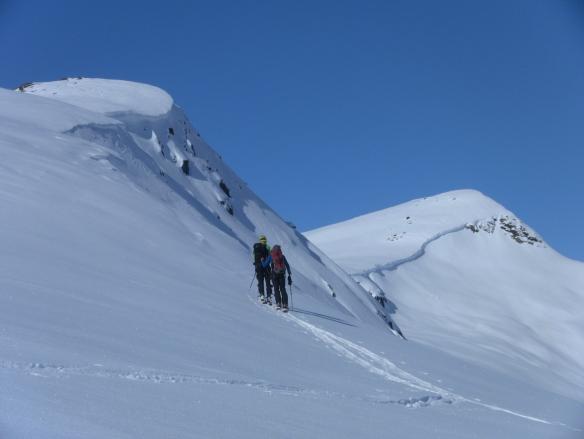 Bilde ifrå oppstigninga til Dalefjellet