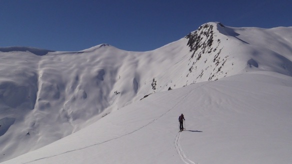 Bilde ifrå oppstigninga til Skåhammersegga