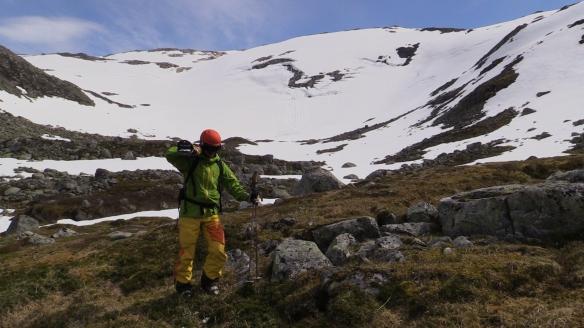 Vårskitur på Grovabreen i mai