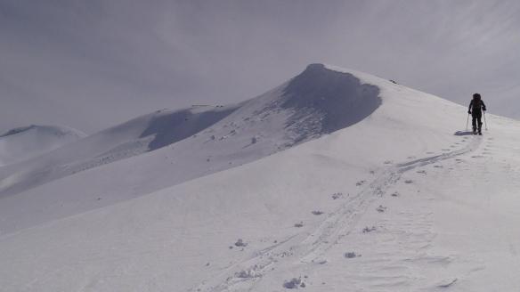 Bilde ifrå oppstigninga til Høgenuken